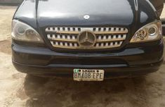 Nigeria Used Mercedes-Benz ML320 2000 Black
