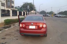 Neatly Used Volkswagen Jetta 2007 Red for sale