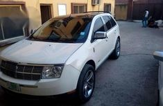 Lincoln MKX 2008 White for sale