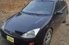 Clean Ford Focus 2002 Black for sale