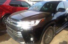 Toyota Highlander 2018 Black for sale