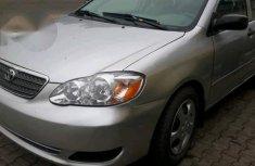 Toyota Corolla 2005 Gray for sale