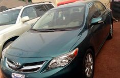 Toyota Corolla 2012 Green for sale