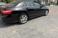 Registered Mercedes Benz E350 2010 Black for sale