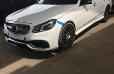 Mercedes-benz E63 2015 White for sale