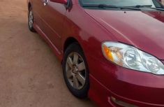 Clean Toyota Corolla Sport 2007 Red for sale