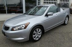 Clean Honda Accord 2009 Silver for sale