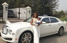 The mother of the year: Linda Ikeji bought her baby son ₦100m Bentley Mulsanne