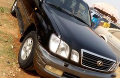 Lexus LX470 2002 Black For Sale