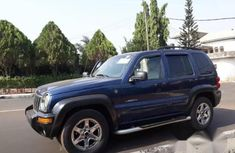 Jeep Liberty 2004 Blue for sale