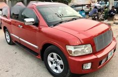 Infiniti QX56 2005 Red for sale