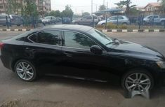 Registered Lexus IS 250 2007 Black for sale