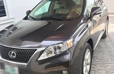 Registered Lexus Rx350 2010 Black for sale