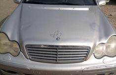 Mercedes Benz C200 2003 Silver for sale