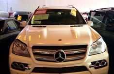 Mercedes Benz GL 450 2011 White for sale