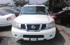 Clean Nissan Armada 2010 Whitefor sale
