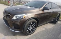 Mercedes Benz Gle450 2016 Brown for sale