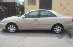 Nigeria Used Toyota Camry 2004 Gold for sale