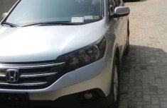 Honda CRV 2012 Silver for sale