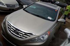Hyundai Sonata Limited 2013 Gold for sale