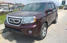 Honda Pilot 2010 Red for sale