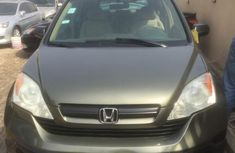 Registered Honda CR-V 2008 Green for sale