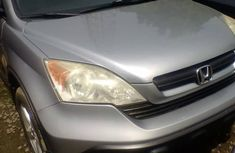 Clean Neat Honda CR-V 2008 Silver for sale