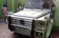 Mercedes-Benz G-wagon AMG 2004 Silver for sale