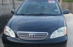 2006 Toyota Corolla Black for sale