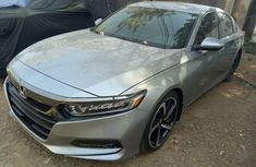 Silver used honda accord 2018 for sale