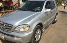 Mercedes-benz ML 500 2003 Gray for sale
