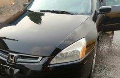 Clean Honda Accord 2005 Black for sale