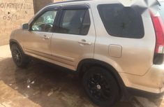 Honda CR-V 2005 Gold for sale