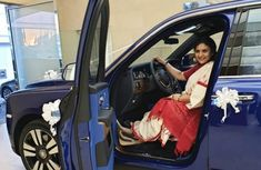 Indian wife gifted with Rolls-Royce Cullinan for silver wedding anniversary