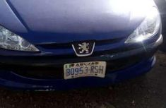 blue 206 Peugeot used mannual for sale