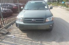 Toyota Highlander 2006 Greenfor sale