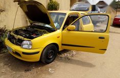 Cheap Nissan Micra 2002 Yellow For Sale
