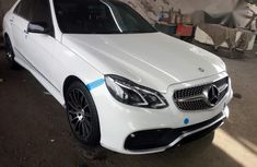 Mercedes-benz E63 2012 White for sale