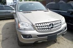 Mercedes Benz ML 350 4matic 2008 Gold for sale