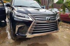 Lexus LX570 2017 Black for sale