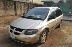 Used Dodge Caravan 2003 Gold for sale
