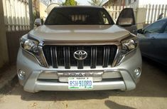 Super Clean Toyota Land Cruiser Prado 2013 Silver for sale