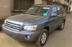 Toyota Highlander 2006 Blue for sale