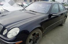 Mercedes Benz E500 2003 Black for sale