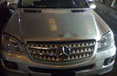 Mercedes-Benz ML500 2007 Silver for sale