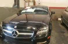 Neat Mercedes-benz CLS 550 2012 Black for sale