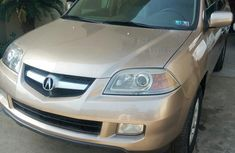 Tokunbo Acura MDX 2006 Gold for sale