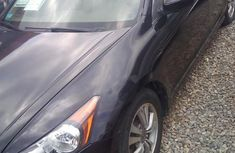 Clean Honda Accord 2011 Black for sale