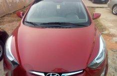 Hyundai Elantra 2014 Red for sale