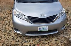 Toyota Sienna 2011 Silver for sale